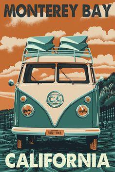 #monterey #california #volkswagen #cars #sfbayarea #posters #montereybay