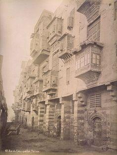 Cairo windows photographed by Pascal Sebah 1880s