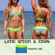 Brazilian Cheeky Bikini bottom with Inyo Braid Halter Top ...
