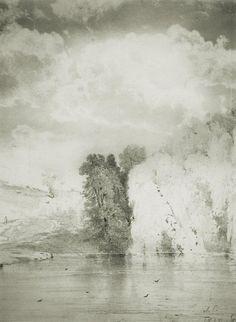 intrepid-android:  Aleksey Savrasov -Trees near the lake (1868)