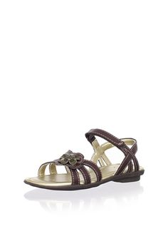 48% OFF Stride Rite Joanna Sandal (Toddler/Little Kid) (Dark Brown) #shoes #Kids