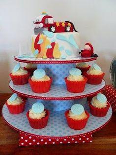 Fireman birthday party theme