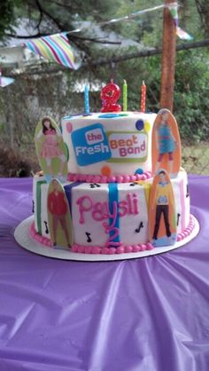 The fresh beat band cake