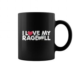 This cute funny Ragdoll Cat I Love My Ragdoll Mug will be a great gift for you or your friend who loves cats