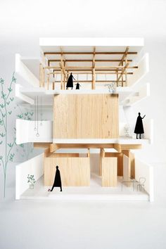 Marvelous Home Design Architectural Drawing Ideas. Spectacular Home Design Architectural Drawing Ideas. Model Architecture, Architecture Du Japon, Maquette Architecture, Architecture People, Japanese Architecture, School Architecture, Interior Architecture, Conceptual Architecture, Architecture Diagrams