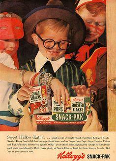 Kellogg's Snack Pak Halloween Ad