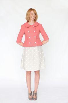 Colette patterns Anise jacket