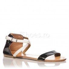 Sandale Atena - Negru