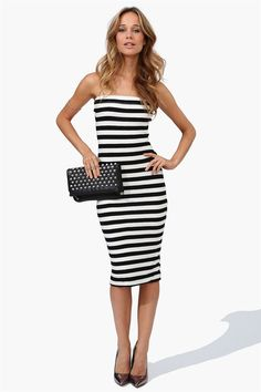 All There Dress in Black/White Get 8% cash back http://www.studentrate.com/itp/get-itp-student-deals/Necessary-Clothing-Student-Discount--/0