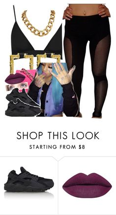 """""""☺️✨"""" by newtrillvibes ❤ liked on Polyvore featuring NIKE"""