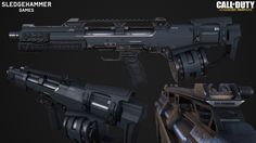 Maelstrom in-game mesh created for Call of Duty: Advanced Warfare. 2014
