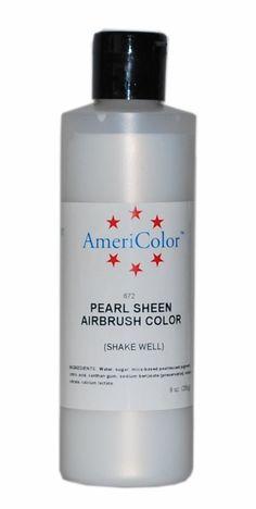 Amazon.com: AmeriColor Amerimist Airbrush Color 9 Ounce, No-Color Pearl Sheen: Kitchen & Dining