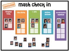 grab your own FREE copy of the Center Check In Board! There are a couple ways to use it: you can use it with or without a Smartboard too!