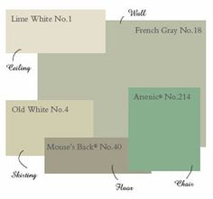60 trendy kitchen colors gray farrow ball 60 trendy kitchen colors gray farrow ball The post 60 trendy kitchen colors gray farrow ball appeared first on Wohnen ideen. Green Paint Colors, Green Colour Palette, Kitchen Paint Colors, Farrow Ball, Farrow And Ball Paint, Living Room Green, Bedroom Green, Living Rooms, House Paint Exterior