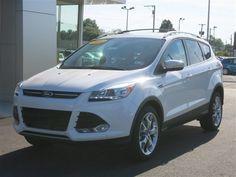 New 2014 Ford Escape Titanium (White SUV) | Charleston