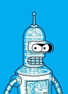 Bender #futurama