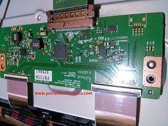 Placa T-CON ou T-COM TV LG 50PN5400.