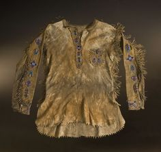 Sioux Indian Clothing | American Indian Art > .Plains > Clothing &…