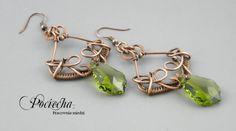 Barocque green - kolczyki - Biżuteria - DecoBazaar