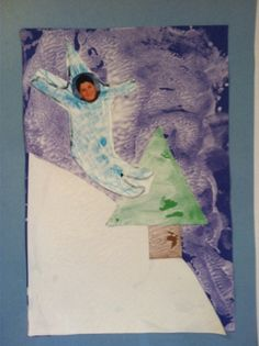 Snowy poetry art