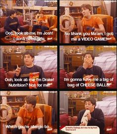 Drake and Josh - one of the funniest episodes!
