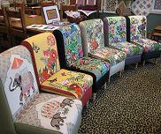 Needlepoint chair ca