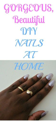Pretty nails, in the comfort of your own home. Pretty Hair Color, Pretty Nails, Diy Beauty, Beauty Hacks, Makeup Aisle, Shaving Tips, Diy Nails At Home, Curly Hair Tips, Beauty Recipe