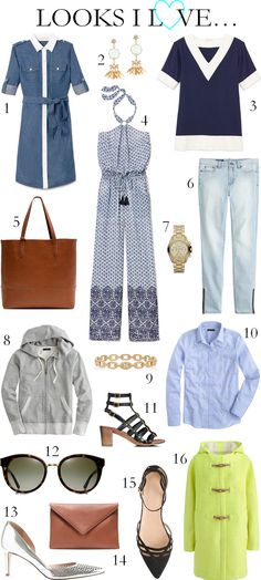 CHIC COASTAL LIVING: Looks I Love... spring summer