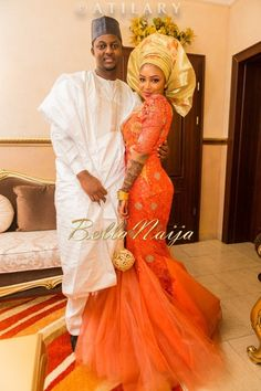 Northern hausa Nigerian wedding! Fareeda Umar & Ibrahim Isa Yuguda | Atilary Photography | BellaNaija Northern Nigerian Kano Abuja Wedding | From Bella Naija. Follow @ChiefWedsLolo.com - Nigerian Wedding Planning Blog (Traditional and Church/Mosque).com - Nigerian Wedding Planning Blog (Traditional and Church/Mosque) for more orange Nigerian wedding inspiration.   #bellanaijaweddings #weddingdigestnaija #welovenigerianweddings #nigeiranweddings #nigerianbride #orangeweddings