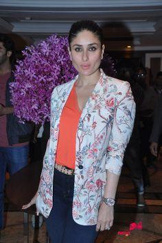 Arjun and Kareena Kapoor snapped during Ki and Ka promotions