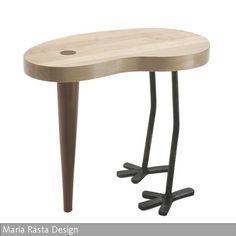 Der Hocker & Beistelltisch Tibu bringt dich zum Lachen! Gesehen bei: roomido.com