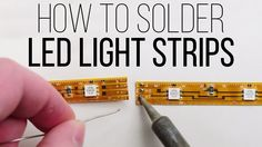 "check our blog about Led strip lights with remote where we added the new video and photomanual about ""How to cut and soldered LED strips"". http://razonledstrip.com/how-to-cut-and-soldered-led-strips/"