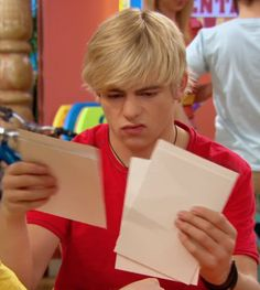 Ross Lynch (Confused Face)