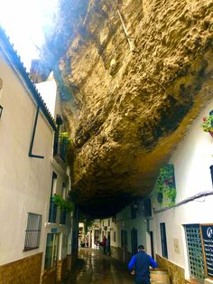 Village built into the rocks! South Of Spain, Seville, Malaga, Long Weekend, The Rock, Rocks, To Go, Let It Be, Adventure