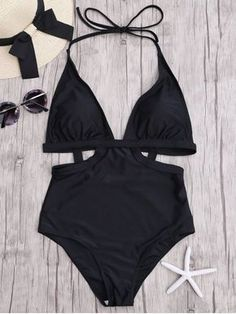 Up to 80% OFF + Free shipping on orders over $30. Cut Out Halter Monokini. Swimwear 2017:Zaful,Bikinis,Micro bikini,High waisted bikini,Halter bikini,Crochet bikini,One-pieces,Tankini set,Cover ups,to find different swimwear(bathing suit,swimsuits) ideas @zaful Extra 10% OFF Code:ZF2017