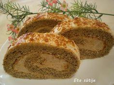 Grillázs-diós tekercs ;) – Recept Velem Poppy Cake, Hungarian Recipes, Banana Bread, Cake Recipes, Yummy Food, Delicious Recipes, Favorite Recipes, Baking, Dios