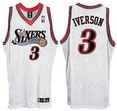 7ac78d86a Philadelphia 76ers  3 Allen Iverson Soul Swingman Home Youth Jerseys Allen  Iverson