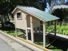 movable chicken coop | portable chicken coop