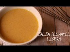 Cómo hacer salsa bechamel ligera sin leche - Cocina SIN - YouTube