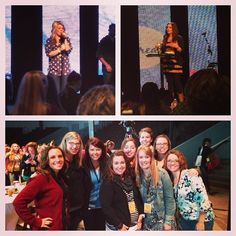 """Via @brookewoodard86 - """"Last day of retreat! Worship by Natalie Grant, another fantastic speaker and saying goodbye to my table group. Sign me up for next year!!!"""" #leadingandlovingit"""