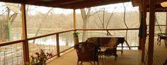 Riverwood Retreat | Cabins In Texas on the Colorado River Cabins In Texas, Colorado River, Cabin Fever, Weekend Getaways, Vacation Spots, Outdoor Living, Modern, Ideas, Design