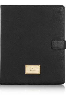 MICHAEL Michael Kors Textured-Saffiano leather iPad case | THE OUTNET