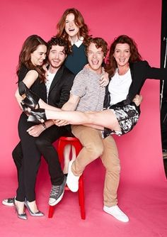 Game of Thrones cast. I love them.