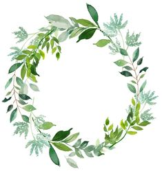 Картинки (разное) - 2 in 2019 Wreath Watercolor, Watercolour Painting, Watercolor Flowers, Greenery Wreath, Floral Wreath, Wreaths, Wreath Drawing, Motif Floral, Flower Frame