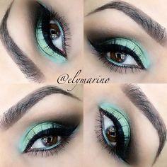 Mint Smokey Eyes  ♥✤ ➳ elymarino