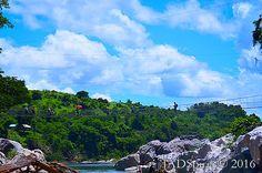 The Hanging Bridge at Minalungao National Park