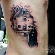 Black Sabbath tattoo done by @leomoscovich.