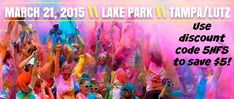 Color Run Discount Code #Tampa