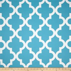 RCA Trellis Blackout Drapery Fabric Aqua Mist from This blackout fabric is amazing! Keep your home decor under wraps with insulated blackout fabric for your window treatments, this blackout fabric can be used as draperies and drapery lining. Kids Curtains, Drapes Curtains, Blue And White Fabric, Picture Sharing, Custom Drapes, Home Decor Shops, Home Decor Fabric, Drapery Fabric, Trellis
