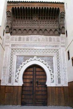 Beautiful Islamic Architecture -Fass - Morocco